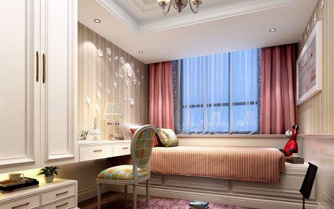 儿童房窗帘欧式风格装潢图片