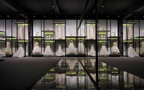 时尚风格婚纱店装修效果图