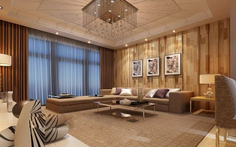 欧式风格60平米小户型房子装饰效果图