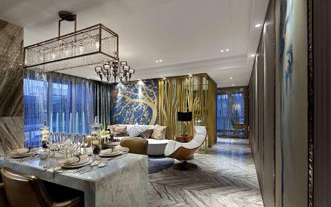 欧式风格183平米套房新房装修效果图