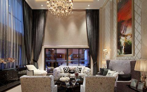 简欧风格500平米别墅房子装饰效果图