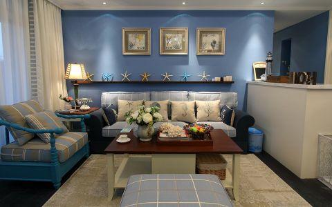 地中海风格160平米大户型新房装修效果图