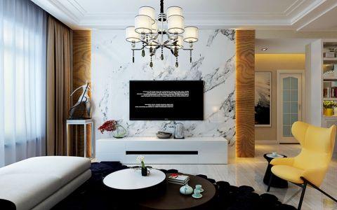 温暖香舍漫香堤三居室现代简约样板间装修效果图