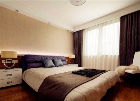 万福国际广场现代简约两居室