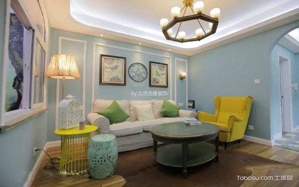 广安门内54平现代简约二居室装修案例