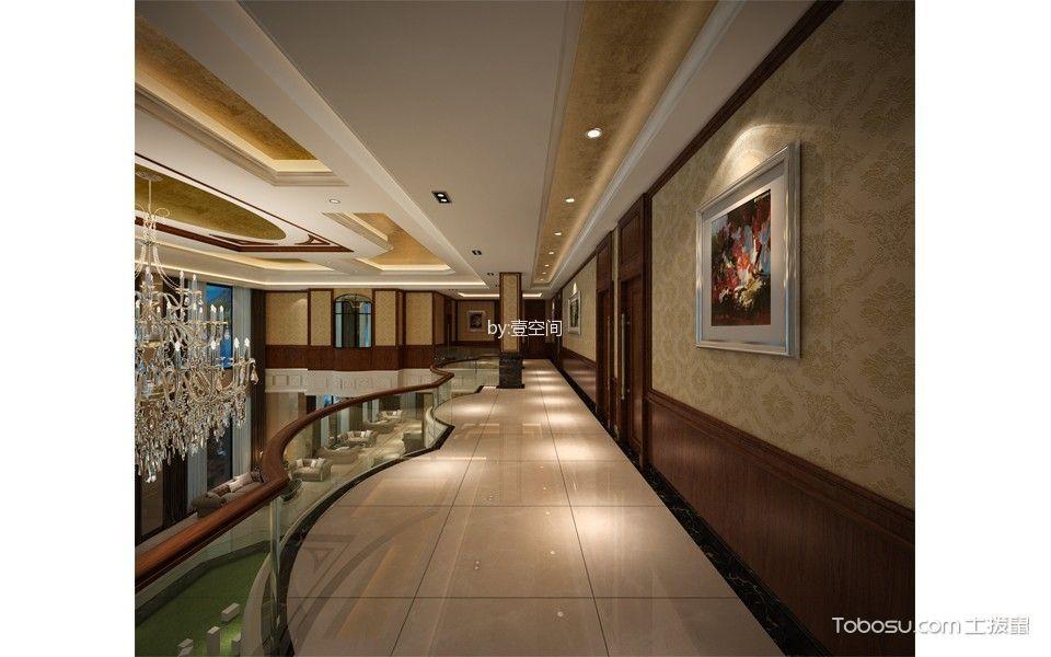 休闲会所楼梯走廊装潢设计图片