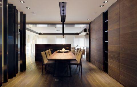 餐厅吊顶后现代风格装潢设计图片