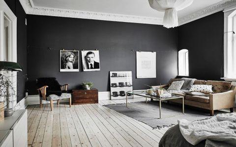 欧式风格80平米小户型室内装修效果图