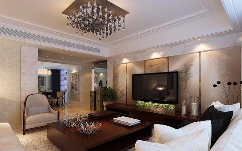 新中式风格144平米四房两厅新房装修效果图