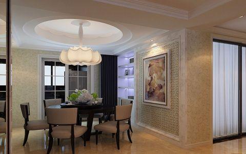 餐厅推拉门新中式风格装饰设计图片
