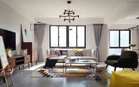 北欧风格120平米套房房子装饰效果图