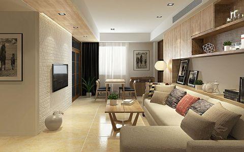 现代风格100平米小户型新房装修效果图