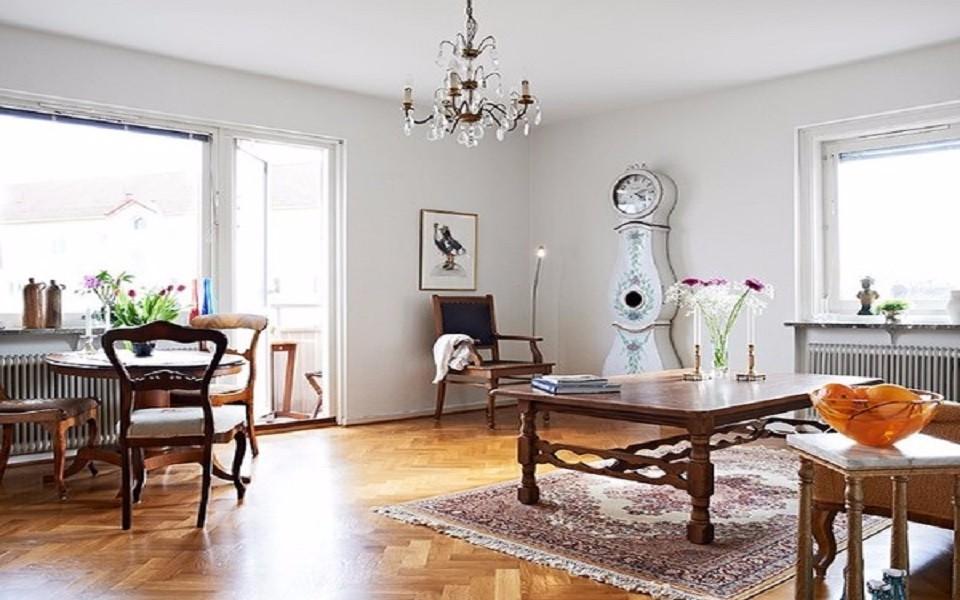 2室1卫1厅65平米美式风格