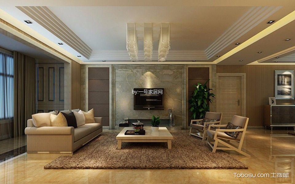 欧式风格89平米2房2厅房子装饰效果图