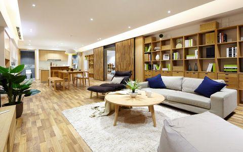 日式风格180平米大户型房子装饰效果图