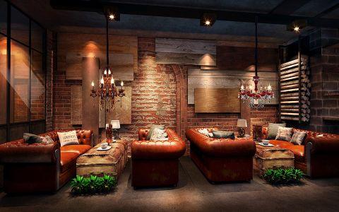 美式风格咖啡厅装修效果图