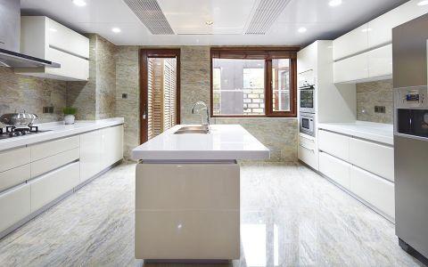 中式风格273平米庭院房子装饰效果图