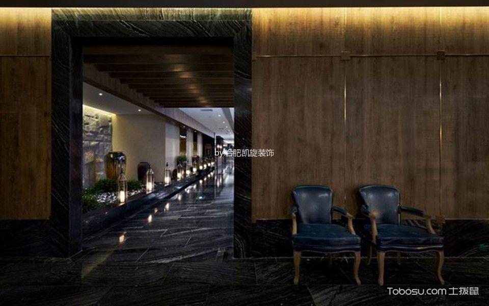 时尚风格餐厅等餐区装饰设计图片