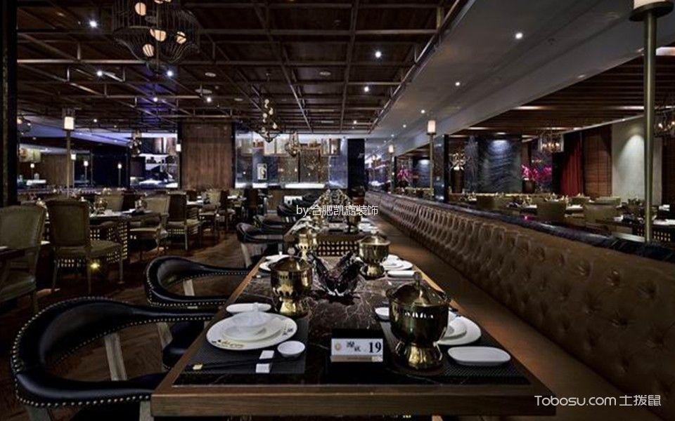 时尚风格餐厅大厅装饰图