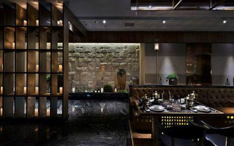 时尚风格餐厅工装装修效果图