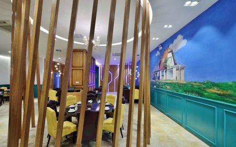 主题餐馆工装装修效果图