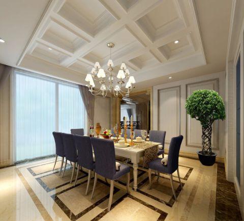 简欧风格280平米复式室内装修效果图