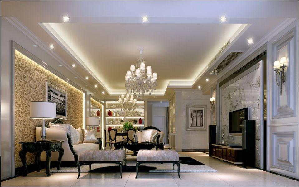 3室2卫2厅110平米简欧风格