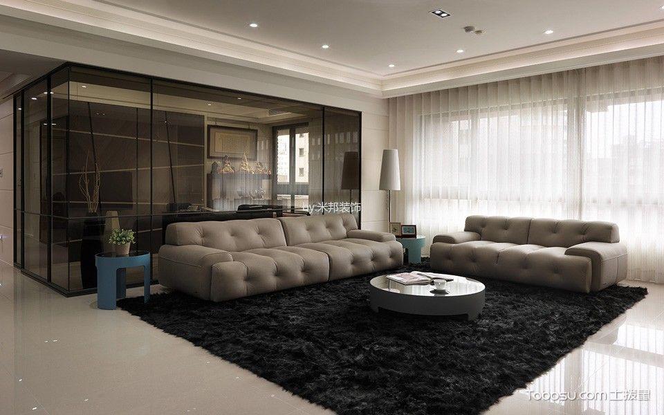 现代风格134平米4房2厅房子装饰效果图