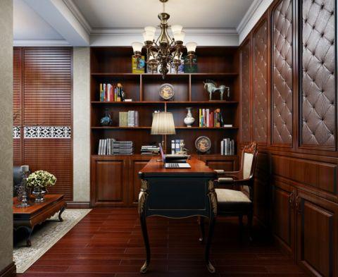 书房隔断欧式风格装饰设计图片