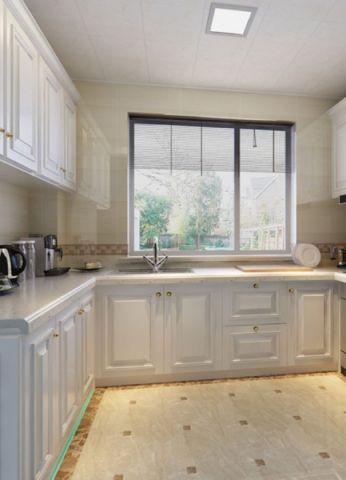 厨房飘窗美式风格装饰设计图片