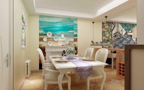 餐厅混搭风格装饰图片