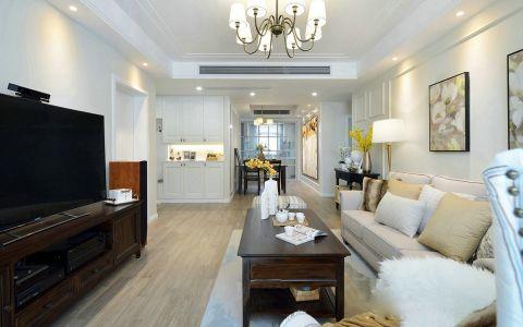 美式风格150平米4房2厅房子装饰效果图