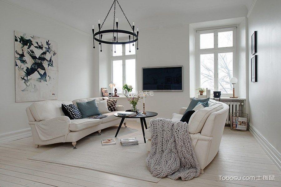简约风格102平米3房2厅房子装饰效果图