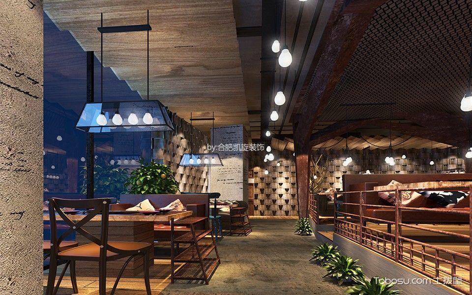现代风格餐厅走廊设计效果图