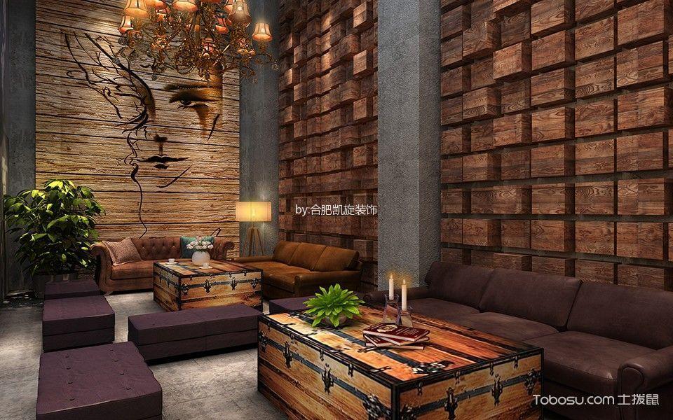 休闲酒吧沙发区装饰图