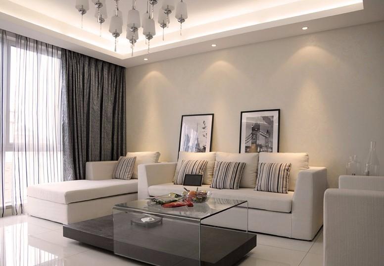 3室2卫1厅100平米现代风格