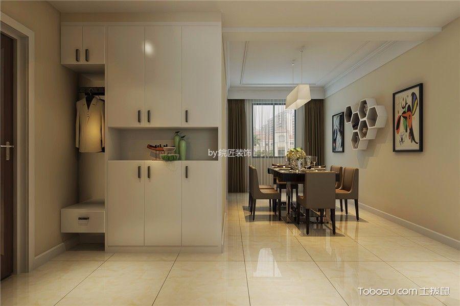 玄关米色走廊现代风格装饰设计图片