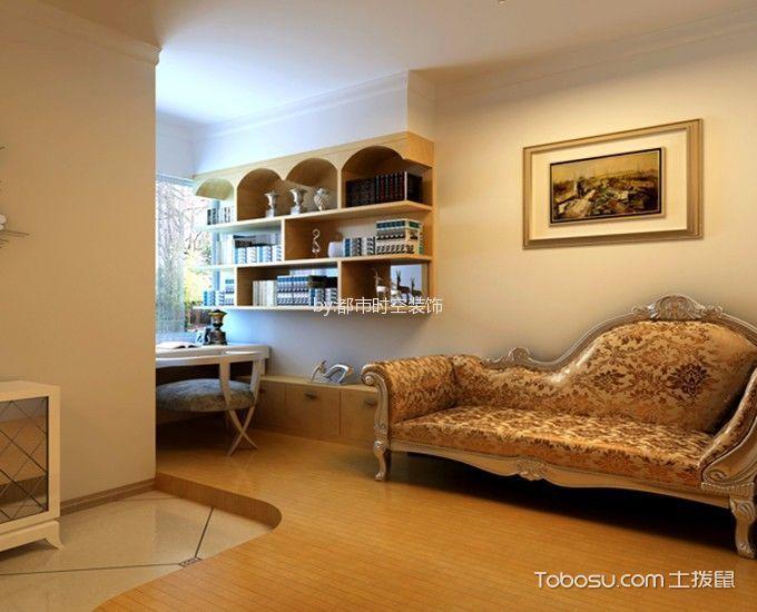 客厅 背景墙_简欧风格80平米两室两厅室内装修效果图
