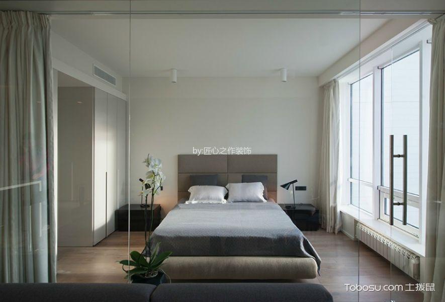 简约风格90平米二居室房子装修效果图