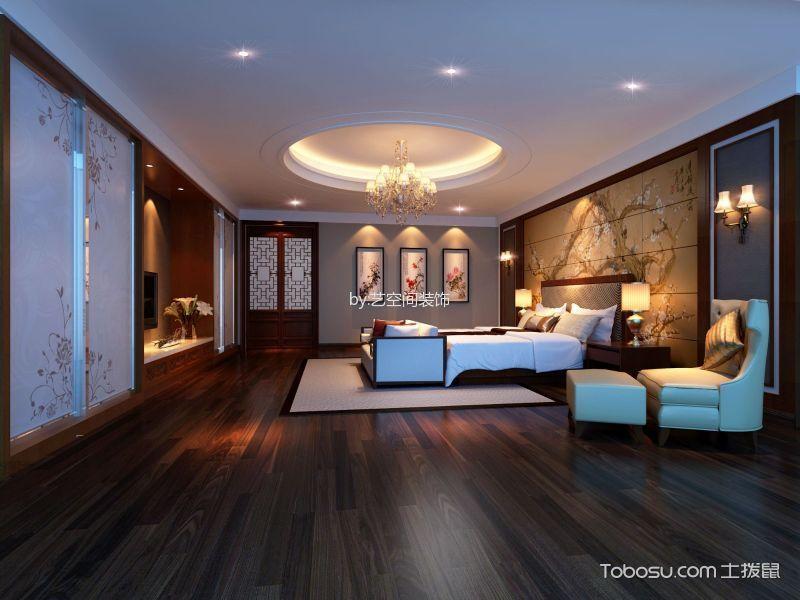 新中式风格500平米别墅房子装饰效果图