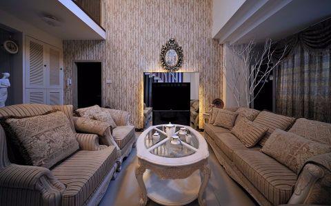 简欧风格170平米复式房子装饰效果图