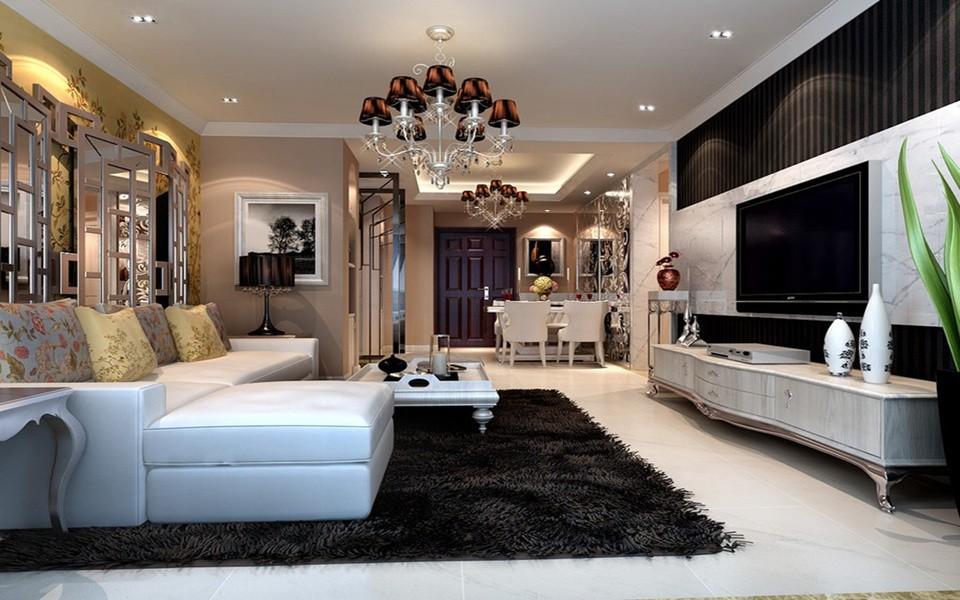 2室1卫2厅90平米简欧风格