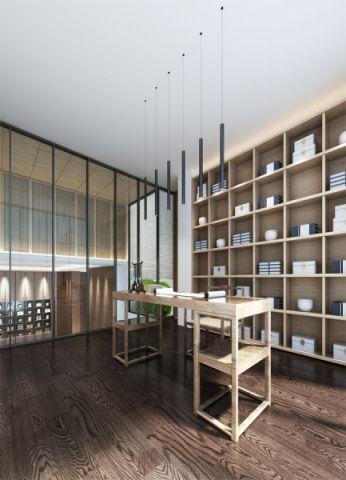 2018新中式书房装修设计 2018新中式阁楼设计图片