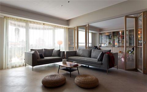 简约风格200平米复式房子装饰效果图