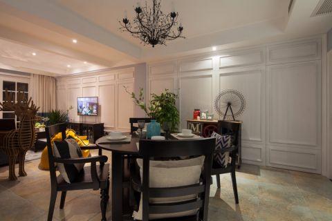 美式风格100平米2房2厅房子装饰效果