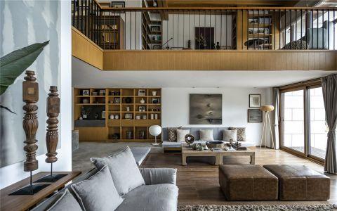 混搭风格210平米跃层新房装修效果图