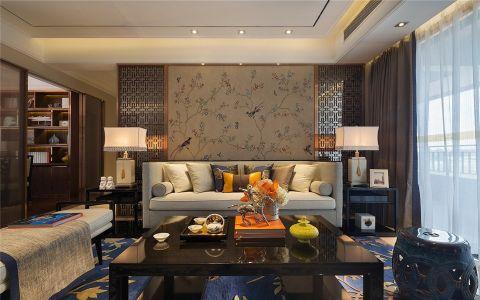 中式风格150平米四室两厅室内装修效果图