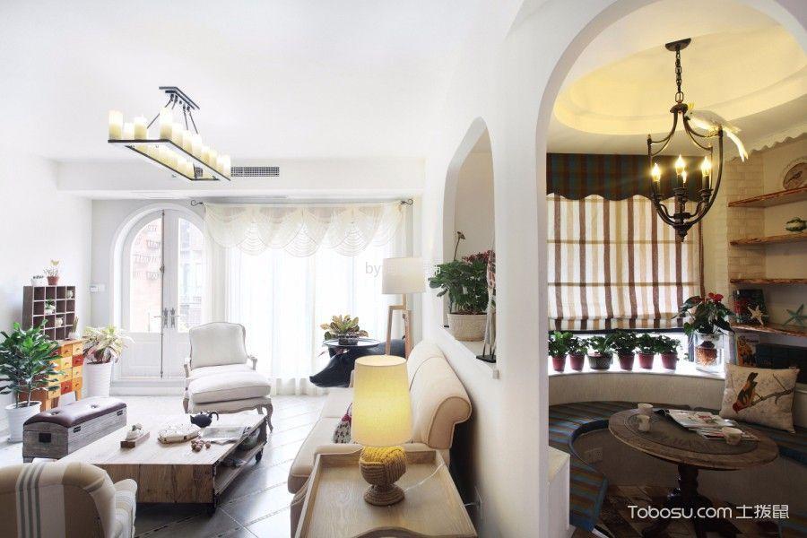 田园风格170平米套房室内装修效果图