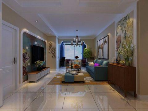 现代简约风格140平米大户型房子装饰效果图