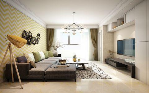现代风格139平米3房2厅房子装饰效果图